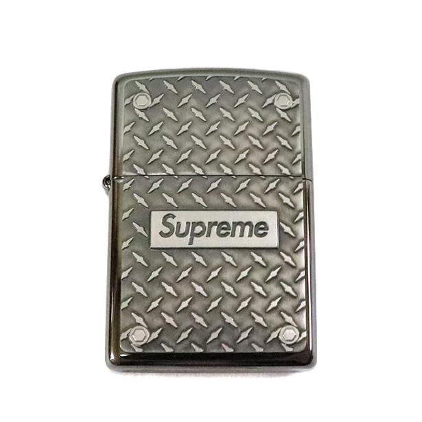 国内正規品 2019SS Supreme Diamond Plate Zippo Metal 新品未使用品 [ シュプリーム ダイアモンド プレート ジッポ メタル シルバー ]