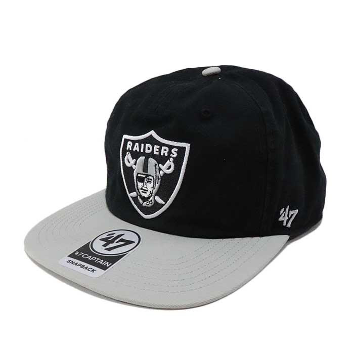 国内正規品 2019SS Supreme × Raiders 5-Panel Black 新品未使用品 [ シュプリーム レイダース 5パネル キャップ ブラック 黒 NFL '47 ]