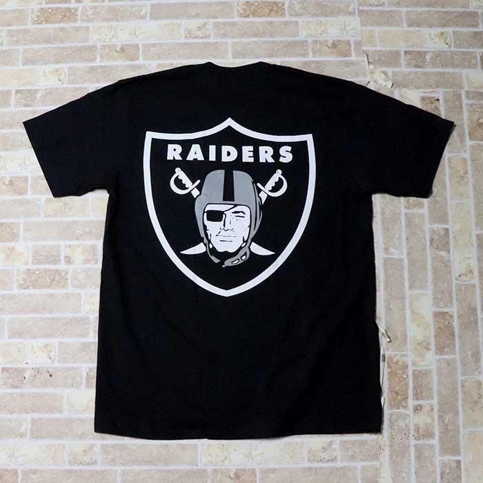 国内正規品 2019SS Supreme × Raiders Pocket Tee Black 新品未使用品 [ シュプリーム レイダース ポケット Tシャツ ブラック 黒 NFL '47 ]