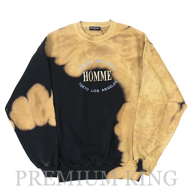 newest collection 41345 d119c 国内正規品 2017AW Balenciaga Oversized Sweater Homme Black Beige 新品未使用品 [ 伊勢丹  POPUP限定 バレンシアガ オーバーサイズ スウェットシャツ ブラック 黒 メンズ ]