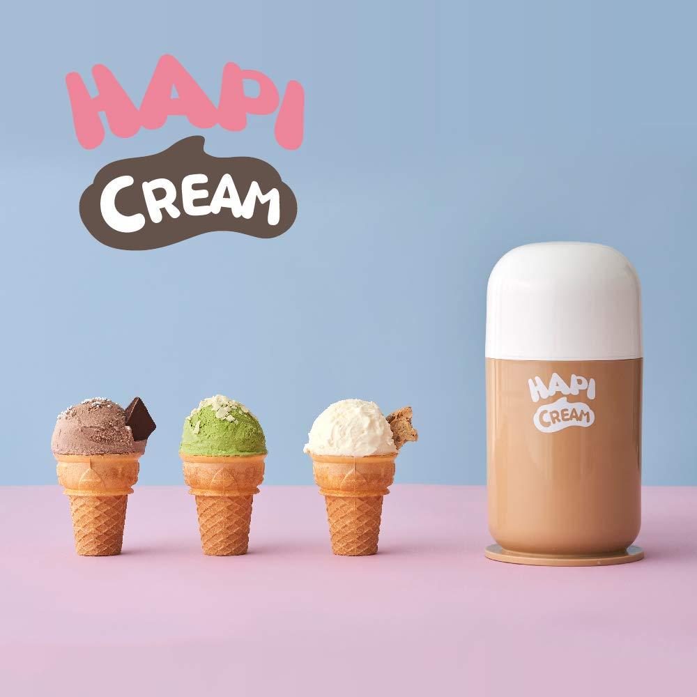 ドウシシャ アイスクリームメーカー 電動 ハピクリーム 2人分 DIC-19