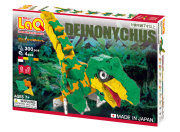 LaQ ラキュー ダイナソーワールド デイノニクス 知育 ブロック 玩具 日本製