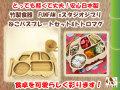 竹製食器 スタジオジブリコラボ ねこバスプレートセット&トトロマグ FUNFAM(ファンファン) 日本製