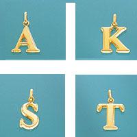 K18イニシャルチャーム(A・K・S・T)