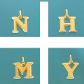 K18イニシャルチャーム(N・H・M・Y)