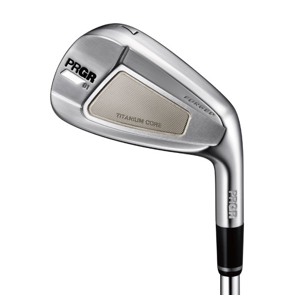 【PRGR IRONS】01 アイアン〔#5-PW 6本セット スチール〕〔2020年モデル〕 ※RS SPIN BALL 1ダースプレゼント