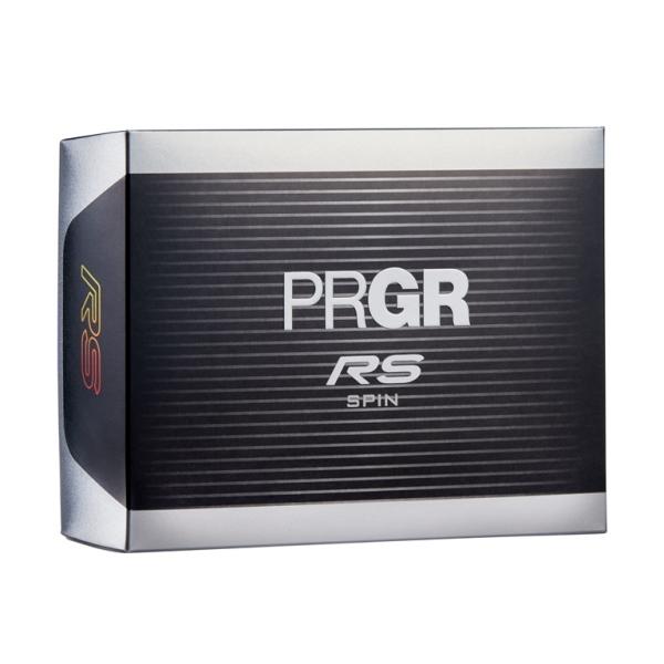 【まとめ買い対象】【新登場】PRGR NEW RS SPIN ボール 1DZ〔2020年モデル〕