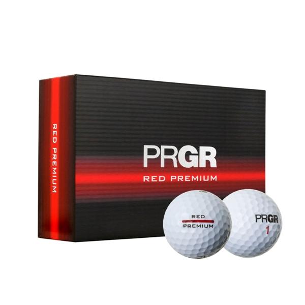 【まとめ買い対象】PRGR RED PREMIUM ボール 半DZ