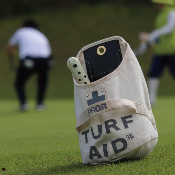 【まとめ買い対象】【直営店限定販売】PRGR別注 TURF AID BAG