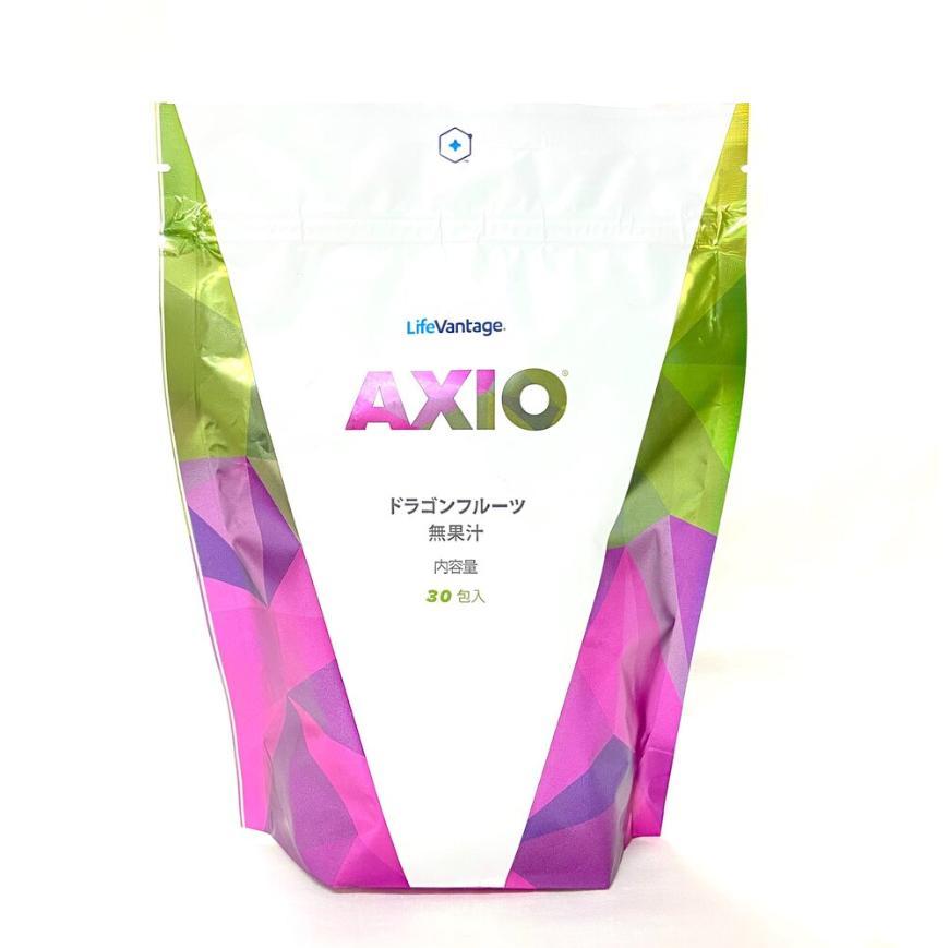 【ライフバンテージ】AXIO アクシオ レギュラー ドラゴンフルーツ無果汁 150g(5g×30包)