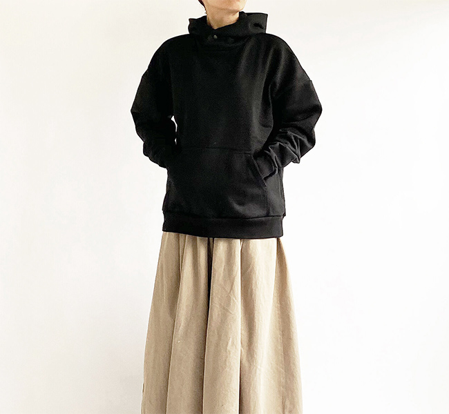 HARVESTY ハーベスティ  PULLOVER HOODIE 裏毛パーカー A52010