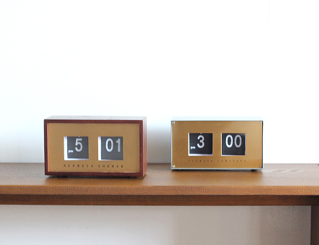 HERMOSA  PIVOT CLOCK ハモサ 置時計