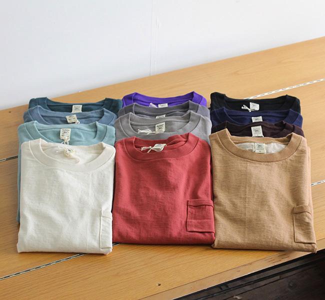 Jackman ジャックマン JM5870 Dotsume Pocket T-Shirt 度詰めポケットTシャツ