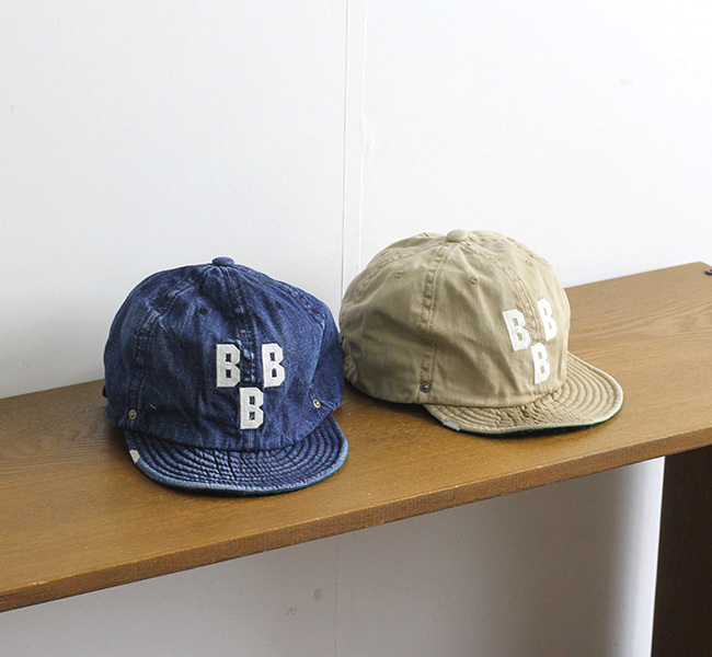 DECHO × EBETTS FIELD DEEF-05  BALL CAP ボールキャップ