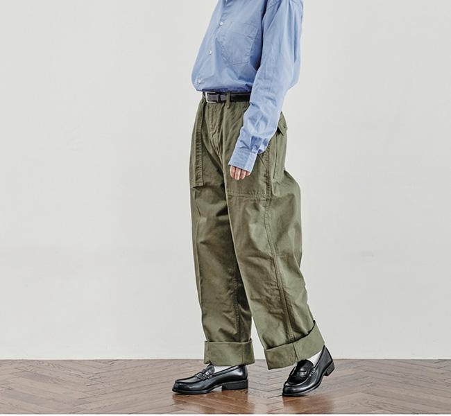 HARVESTY ハーベスティ CLASSICAL FATIGUE PANTS クラシカルファティーグパンツ A22105