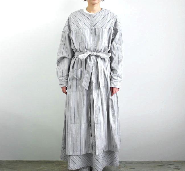 NAPRON ナプロン ワークシャツドレス WORK SHIRTS DRESS  NP-TP18