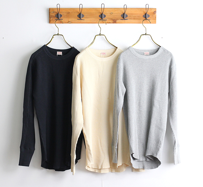 HEALTH KNIT   SHW ARMY CREWNECK LS 聖林公司別注