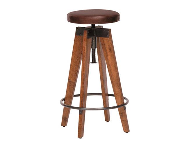 journal standard Furniture ジャーナルスタンダードファニチャー  CHINON HIGH STOOL LEATHER シノンハイスツールレザー