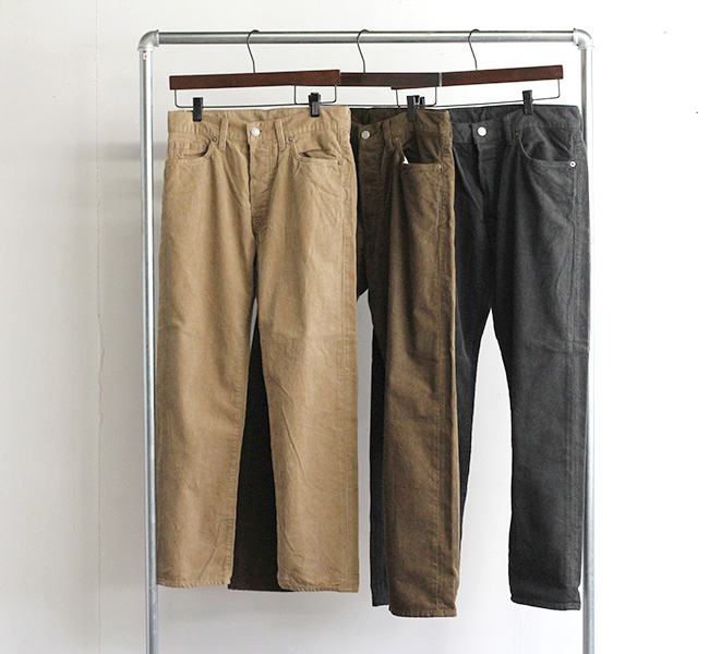ordinary fits オーディナリーフィッツ アンクルコーデユロイパンツ ANKLE CORDUROY PANTS OF-P092