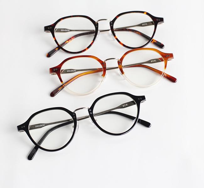 NEW. ニュー SANDERS サンダーズ  (旧 NEWMAN ニューマン ) 眼鏡