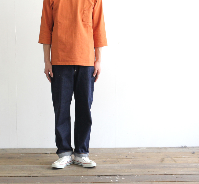 ordinary fits オーディナリーフィッツ ニューファーマーズデニム ワンウォッシュ NEW FARMERS 5P DENIM ONE WASH OF-P033OW