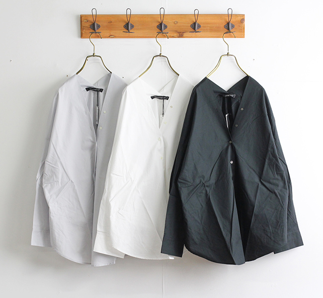 mizuiro-ind ミズイロインド Vネックシャツ  1-239588