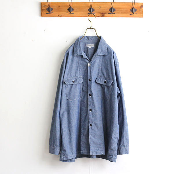 ordinary fits オーディナリーフィッツ エンジニアシャツ ENGINEERS SHIRTS ONEWASH OF-S36OW