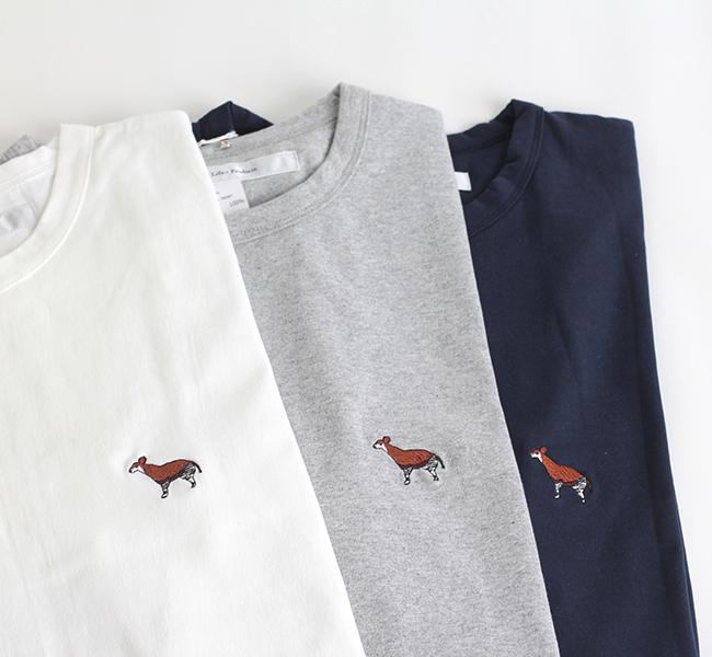 EEL Products イール プロダクツ 少年とオカピ  Tシャツ