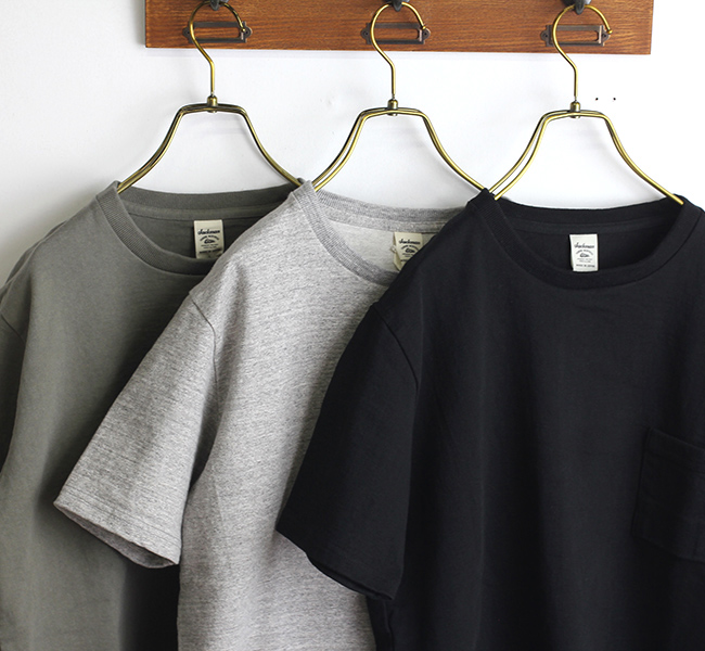 Jackman ジャックマン  JM5766 Dotsume Pocket T-shirt 度詰めポケットTシャツ