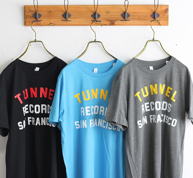 TUNNEL RECORDS ロゴTシャツ