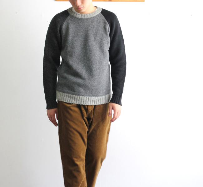 soglia  LANDNOAH Sweater CRAZY ソリア エルボーパッチセーター クレージー