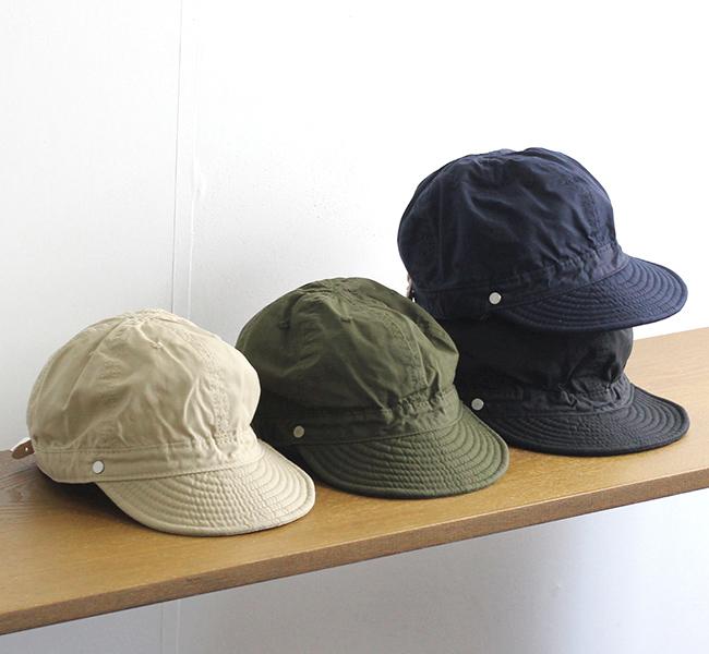 DECHO デコ リップストップ シャローコメキャップ SHALLOW KOME CAP 1-3SD21