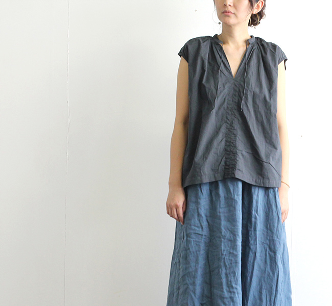 SALE40%OFF ordinary fits オーディナリーフィッツ レディース フローリストノースリーブ FLORIST NO SLEEVE OF-S015