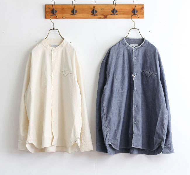 ordinary fits オーディナリーフィッツ スタンドワーカーズシャツ STAND WORKERS SHIRTS OF-S041