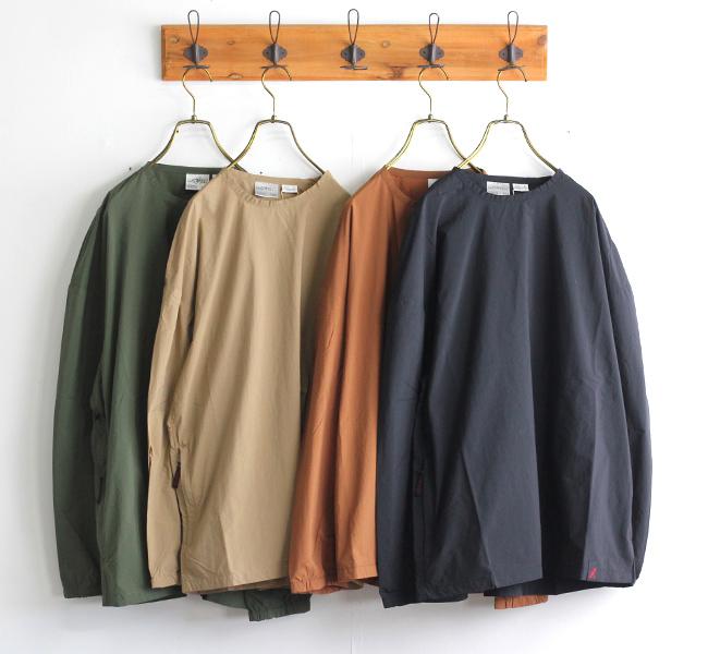 GRAMICCI グラミチ PACKABLE CAMP L/S TEE パッカブルキャンプL/STシャツ 2053-KNJ