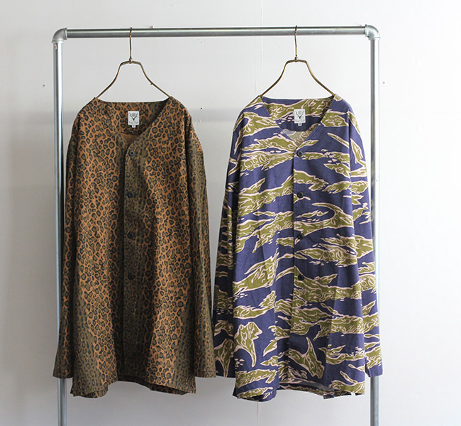 SOUTH2 WEST8 サウスツーウエストエイト V NECK ARMY SHIRT - FLANNEL PT. JO801