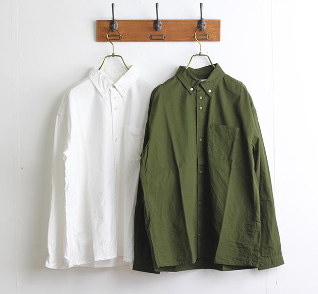 SALE30%OFF nisica ニシカ  ルーズフィット ボタンダウンシャツ OX