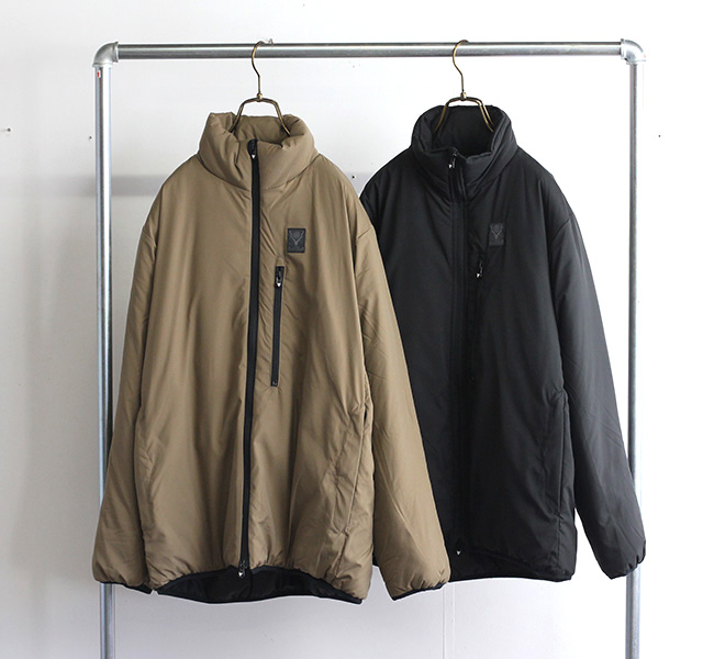 SOUTH2 WEST8 サウスツーウエストエイト INSULATOR JACKET - POLY PEACH SKIN  JO761