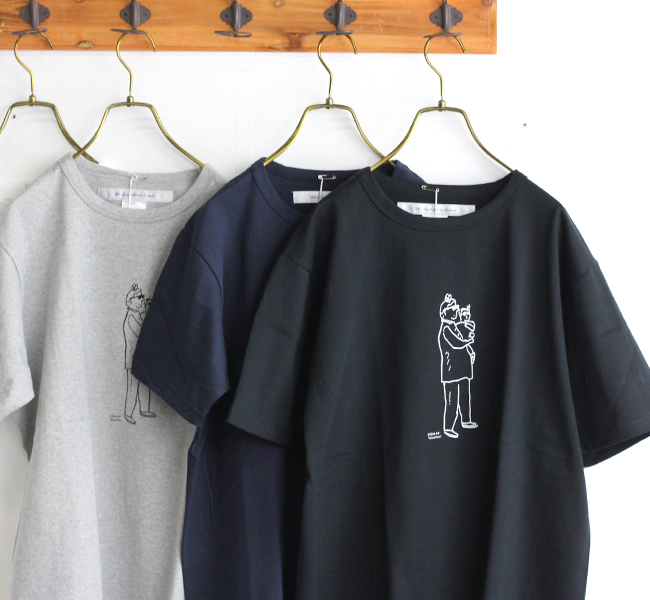 EEL Products イール プロダクツ HOME×ヒラノトシユキ Tシャツ