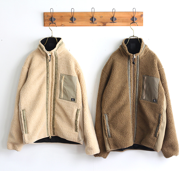 SALE30% LAST CHANCE  レトロボアフリースジャケット LC-0001