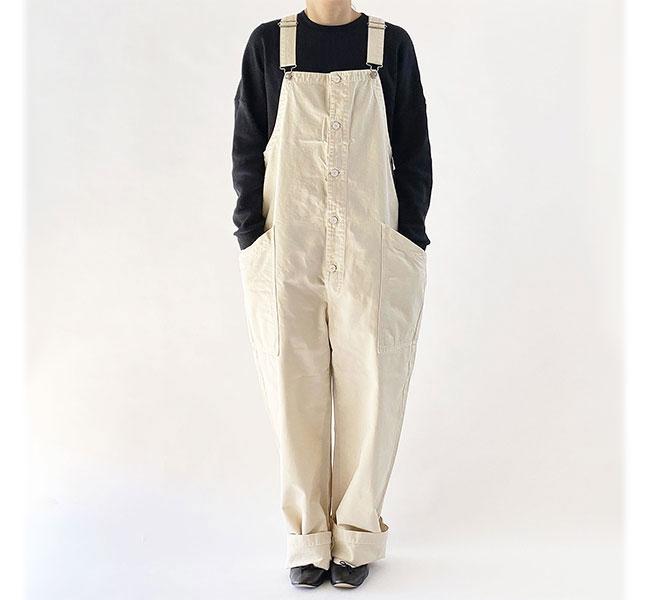 HARVESTY ハーベスティ CHINO CLOTH OVERALLS チノ オーバーオール A12008 再