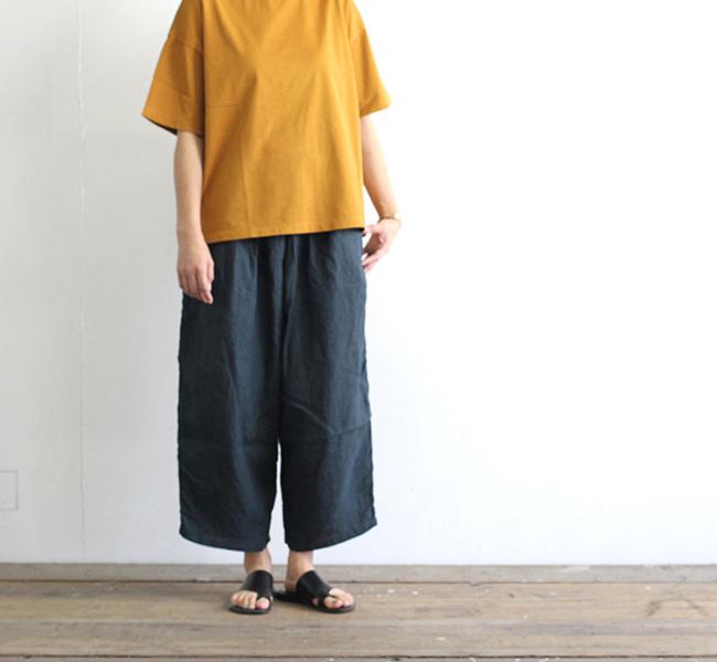 ordinary fits オーディナリーフィッツ レディース BALL PANTS linen ボールパンツ リネン OF-P025