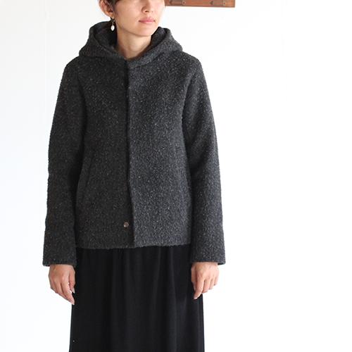 evam eva  エヴァムエヴァ napping hooded coat