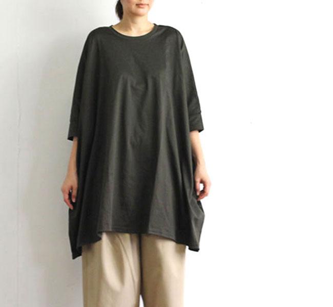 mizuiro-ind  ミズイロインド クルーネックワイドTシャツ 2-21836502