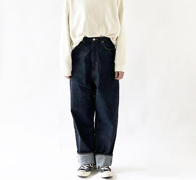 HARVESTY ハーベスティ CLASSICAL DENIM PANTS LOOSE TAPERED クラシカルデニム ルーズテーパード A21801