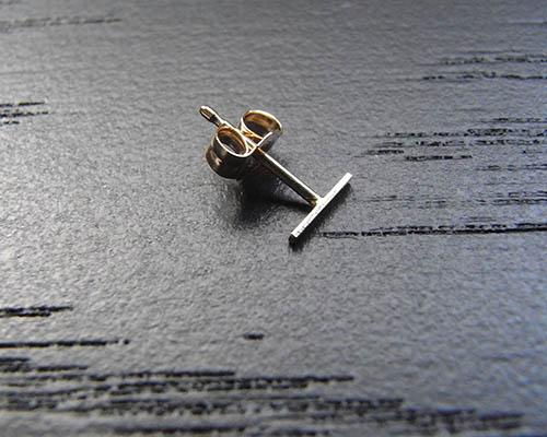 Short Staple Earring (Kathleen Whitaker) by SOURCE