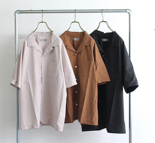 nisica ニシカ オープンカラーシャツ NIS-978