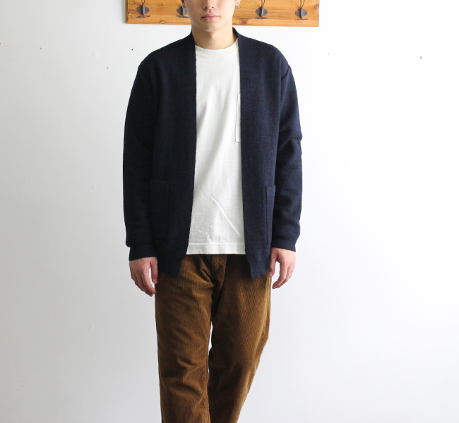 SALE40%OFF BETTER MERINO MILANO RIB CARDIGAN BTRK1803 メンズ