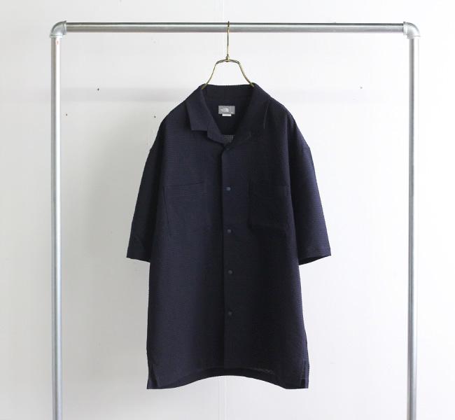 ザノースフェイス THE NORTH FACE ショートスリーブシアサッカーベントメッシュシャツ メンズ S/S Seersucker Vent Mesh Shirt  NR22160
