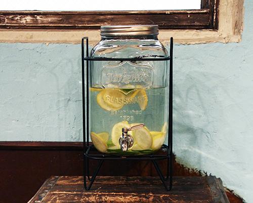 Yorkshire Mason Jar Drink Dispenser ヨークシャーメイソンジャードリンクディスペンサー